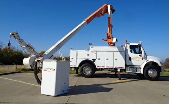 42' Heavy Duty Bucket Truck with Jib