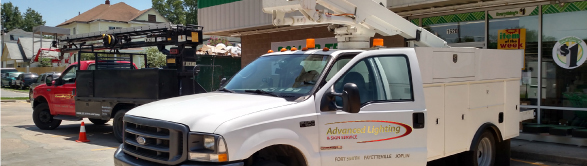 Your exterior lighting and illuminated signs generally provide a consumer s   first and lasting  impression of your business  We understand how  important  Advanced Lighting   Sign Service   parking lot lighting repair  . Advanced Lighting Services. Home Design Ideas